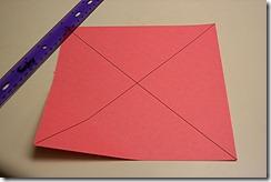 Скрапбукинг - коробка из четырёх секций