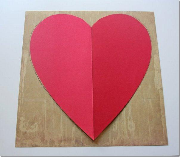 Скрапбукинг - валентинка или просто признание в любви